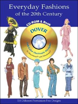 Everyday Fashions of the 20th Century (Full Color Electronic Designs Series)