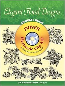 Elegant Floral Designs CD-Rom and Book