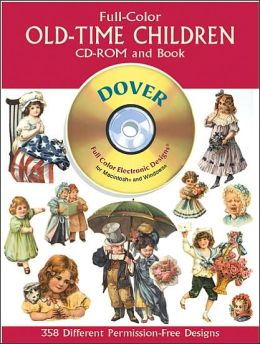 Full-Color Old-Time Children (CD-Rom & Book)