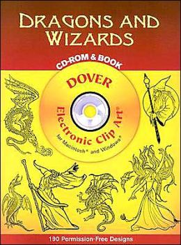 Dragons and Wizards CD-Rom and Book