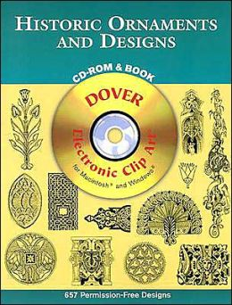 Historic Ornaments and Designs (CD-ROM & Book)
