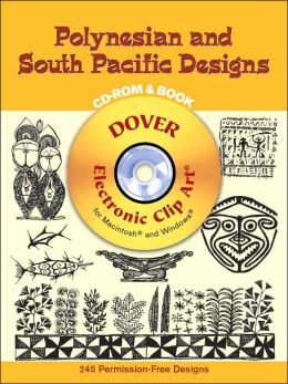 Polynesian and Oceanian Designs (Dover Electronic Clip Art Series)