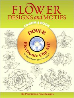 Flower Designs and Motifs (Dover Electronic Clip Art Series)