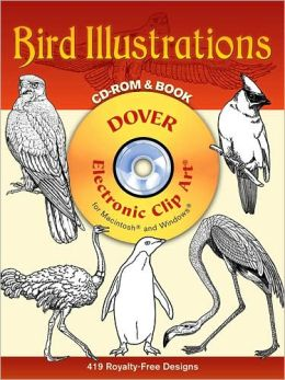 Bird Illustrations (Dover Electronic Clip Art Series)