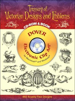 Treasury of Victorian Designs and Emblems