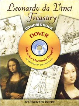 Leonardo da Vinci Treasury: CD-ROM & Book (Electronic Clip Art Series)