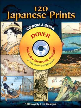120 Japanese Prints (Dover Full-Color Electronic Design Series)