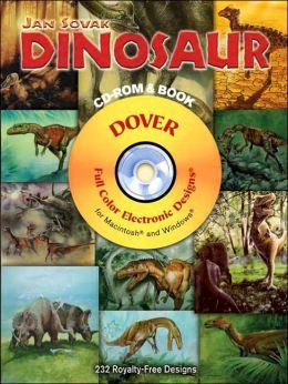 Dinosaur CD-ROM and Book
