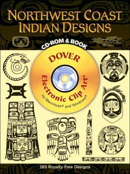 Northwest Coast Indian Designs (Dover Electronic Clip Art Series)