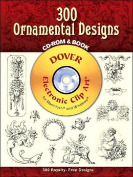 440 Ornamental Designs CD-ROM and Book