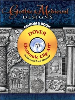 Gothic & Medieval Designs CD-ROM and Book