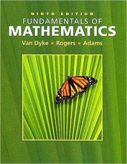Fundamentals of Mathematics (with Interactive Video Skillbuilder CD-ROM and CengageNOW, Student Resource Center Printed Access Card)
