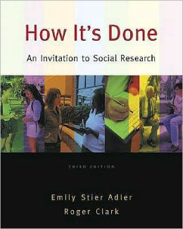 How It's Done: An Invitation to Social Research