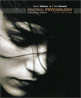 Abnormal Psychology: An Integrative Approach (with Abnormal Psych Live CD-ROM)