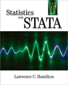 Statistics with STATA