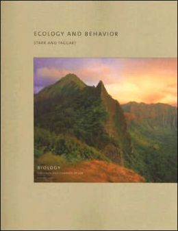 Ecology and Behavior: Volume 6