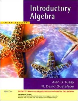 Introductory Algebra, Updated Media Edition (with CD-ROM and MathNOW?, Enhanced iLrn? Math Tutorial, Student Resoure Center Printed Access Card)