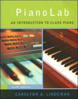 PianoLab: An Introduction to Class Piano (with Keyboard for Piano & Guitar and CD)