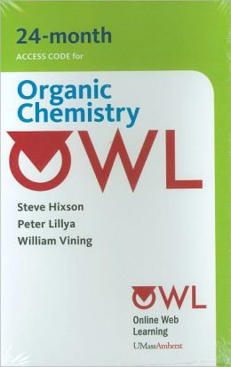 OWL (24 months) Printed Access Card for Organic Chemistry