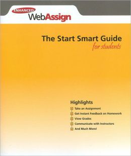 Enhanced WebAssign - Start Smart Guide for Students