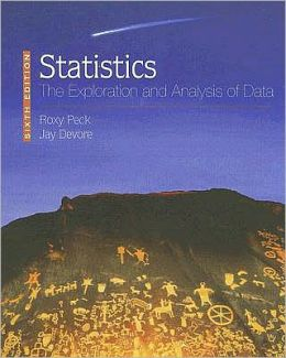 Statistics: The Exploration and Analysis of Data