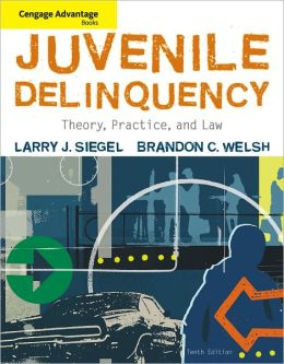 Advantage Books: Juvenile Delinquency: Theory, Practice, and Law