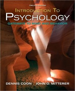 Introduction to Psychology: Gateways to Mind and Behavior with Concept Maps and Revisediews