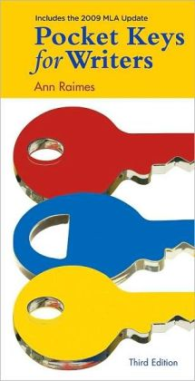 Pocket Keys for Writers, 2009 MLA Updated Edition