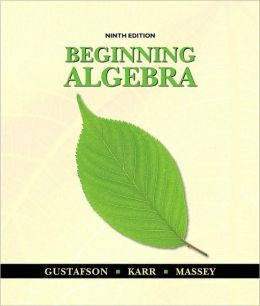 Beginning Algebra, 9th Edition