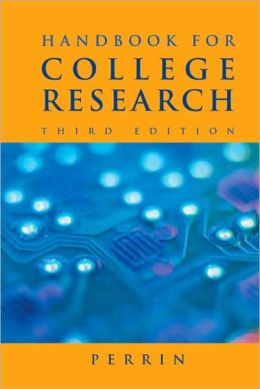 Handbook for College Research (with 2009 MLA Update Card)