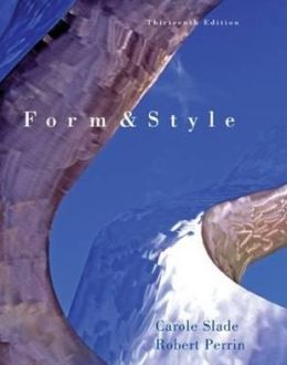 Form and Style (with 2009 MLA Update Card)