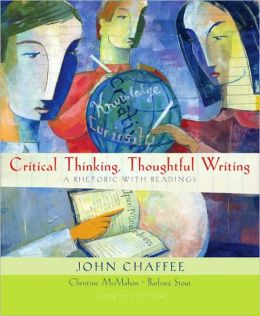 Critical Thinking, Thoughtful Writing (with 2009 MLA Update Card)