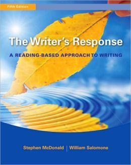 The Writer's Response