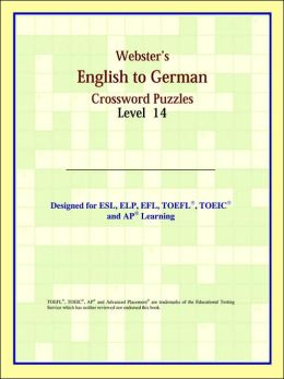 Webster's English to German Crossword Puzzles: Level 14