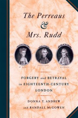 The Perreaus And Mrs. Rudd