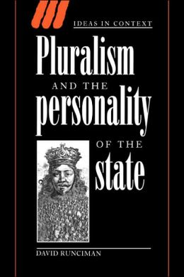 Pluralism and the Personality of the State