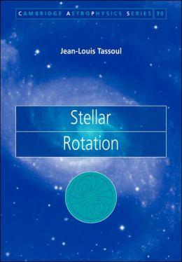 Stellar Rotation