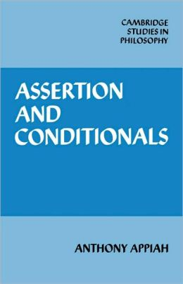 Assertion and Conditionals