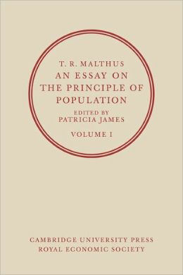An Essay on the Principle of Population, Volume 1