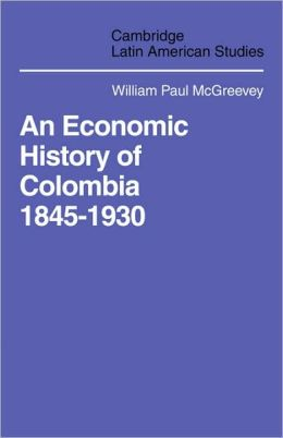 An Economic History of Colombia, 1845-1930