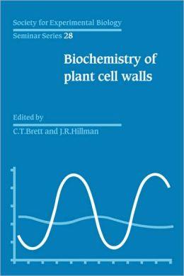 SEBS 28 Biochemistry of Plant Cell Walls