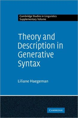 Theory and Description in Generative Syntax: A Case Study in West Flemish