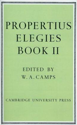 Propertius Elegies: Book II