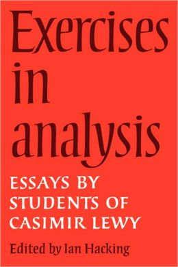 Exercises in Analysis: Essays by Students of Casimir Lewy