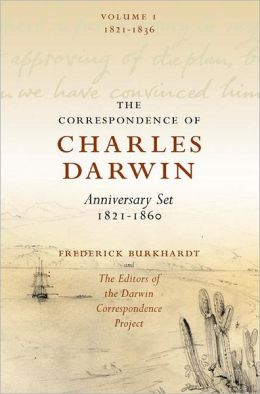 The Correspondence of Charles Darwin 8 Volume Set: 1821-1860