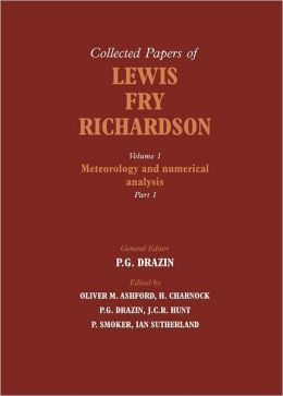The Collected Papers of Lewis Fry Richardson 2 Part Set
