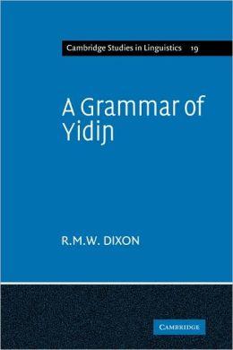 A Grammar of Yidin