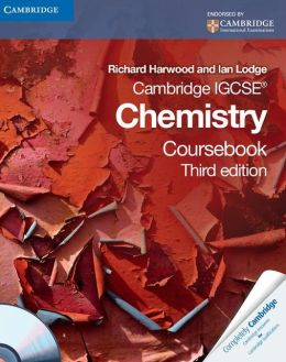 Cambridge IGCSE Chemistry Coursebook with CD-ROM