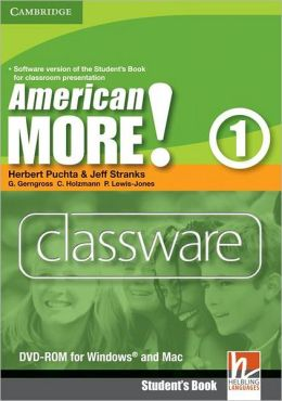 American More! Level 1 Classware DVD-ROM Herbert Puchta, Jeff Stranks, Gunter Gerngross and Christian Holzmann