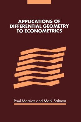 Applications of Differential Geometry to Econometrics